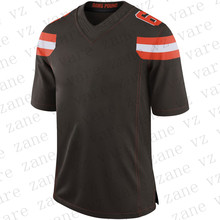 цена на Customize Mens New Fashion American Football Jerseys Baker Mayfield Odell Beckham Nick Chubb Denzel Ward Cheap Jersey