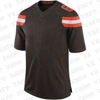 Customize Mens New Fashion American Football Jerseys Baker Mayfield Odell Beckham Nick Chubb Denzel Ward Cheap Jersey