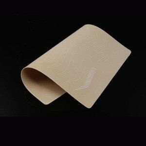 Image 3 - Микроблейдинг бровей тренировочная кожа для бровей Перманентный макияж товары для бровей тренировочная кожа без чернил белая линия двусторонняя