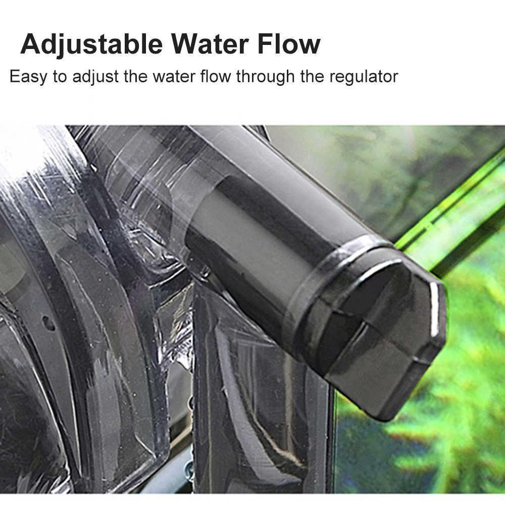 220 V-240 V Gantung Filter Aquarium Ikan Tangki Filter Air Terjun Suspensi Oksigen Pompa Submersible Fliter untuk Aquarium 6 jenis