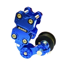 Universal Motorcycle Motocross Adjuster Chain Tensioner ATV Regulator Roller Aluminum Tool Accessories