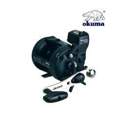 Okuma 2BB 5.1: 1 koło bębna kołowrotek z licznikiem linii stopu aluminium wędkarstwo Trolling koła lewy praworęczny Reel De Pesca