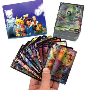 300 PCS French Version Language Pokemones Card Battle Game Card 140GX 60V Vmax 60Tag 20EX 20MEG for kids