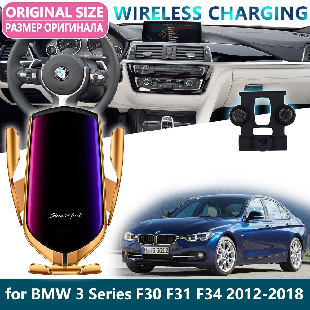 Carbon Fiber Style Fender Vents Decorative Sticker For BMW F30 F35 328I 2012-17