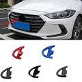 Автомобильная Наклейка ABS на передний и задний багажник для Hyundai Mistra 2014-2019 Lafesta 2019, эмблема на рулевое колесо, аксессуары