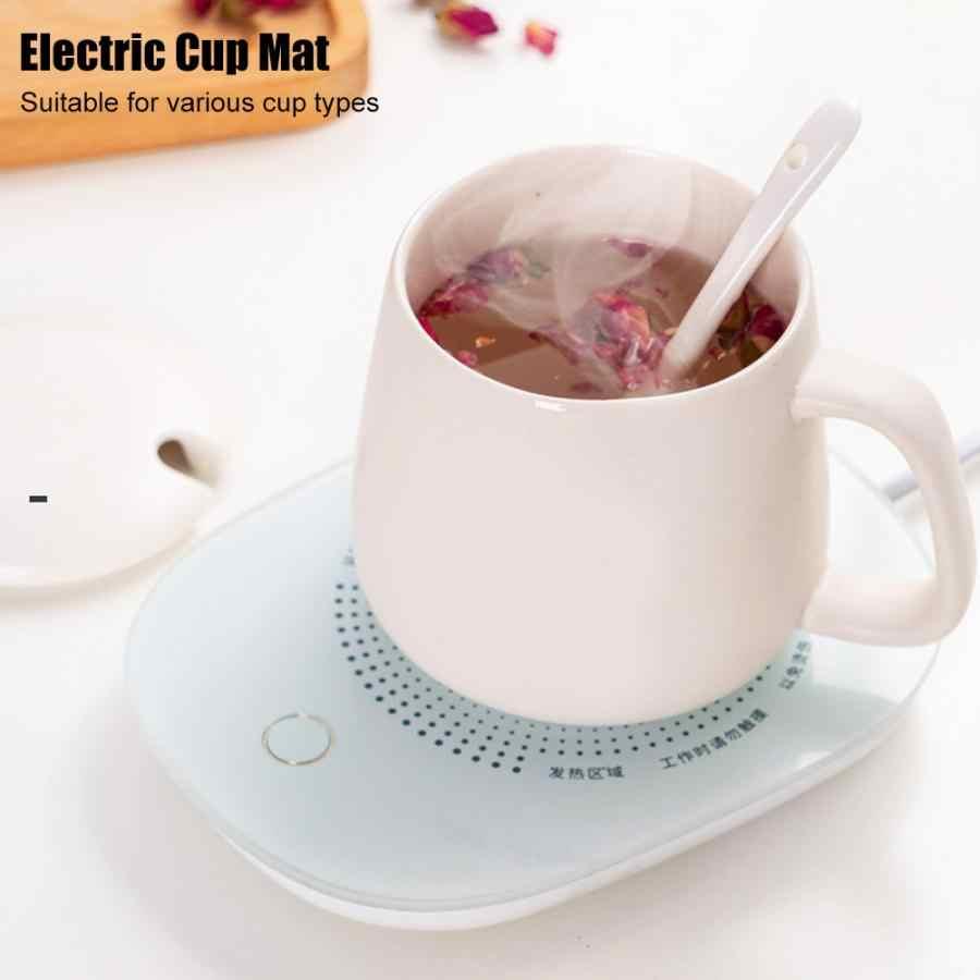 مصغرة دفئا وسادة دافئة كأس حصيرة التدفئة جهاز مكتب القهوة الشاي دفئا وسادة حصيرة الجدول مقاومة للحرارة الكهربائية العزل كوستر