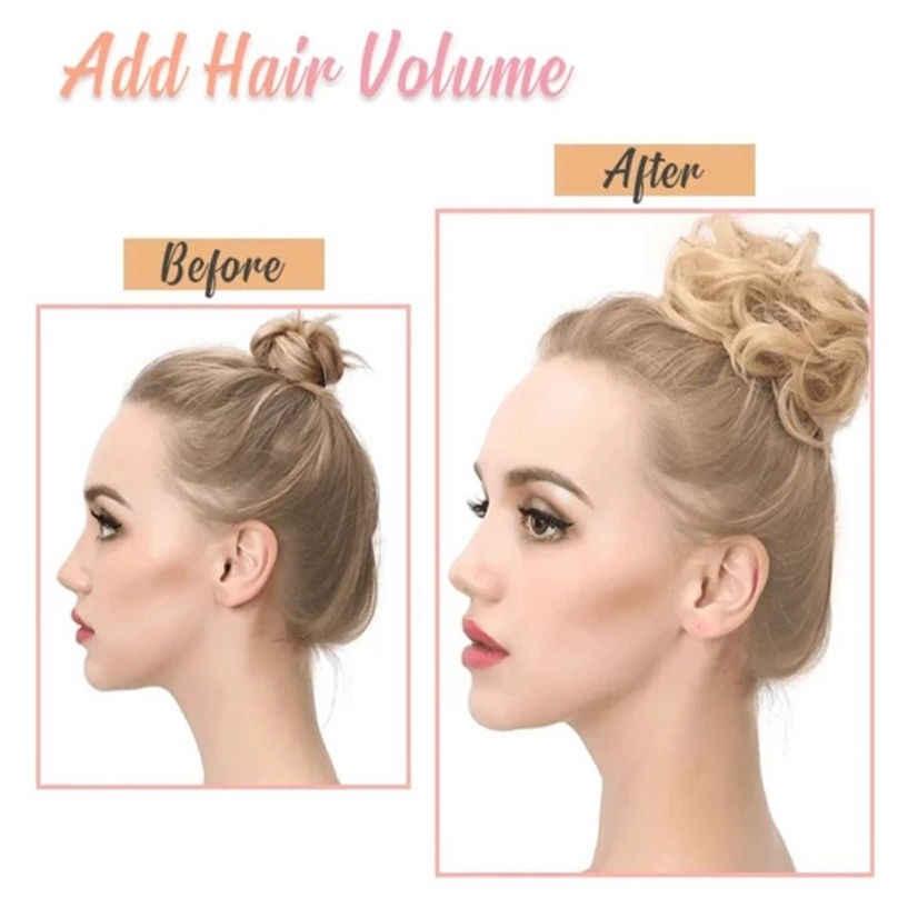 موضة جديدة سهلة الارتداء أنيق دائرة الشعر النساء الفتيات عصابات الشعر المطاطية Scrunchie إكسسوارات الشعر 3S02