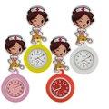Мультяшные милые медицинские часы с силиконовым карманом для медсестер, врачей, женщин и женщин, больничные растягивающиеся значки, подаро...