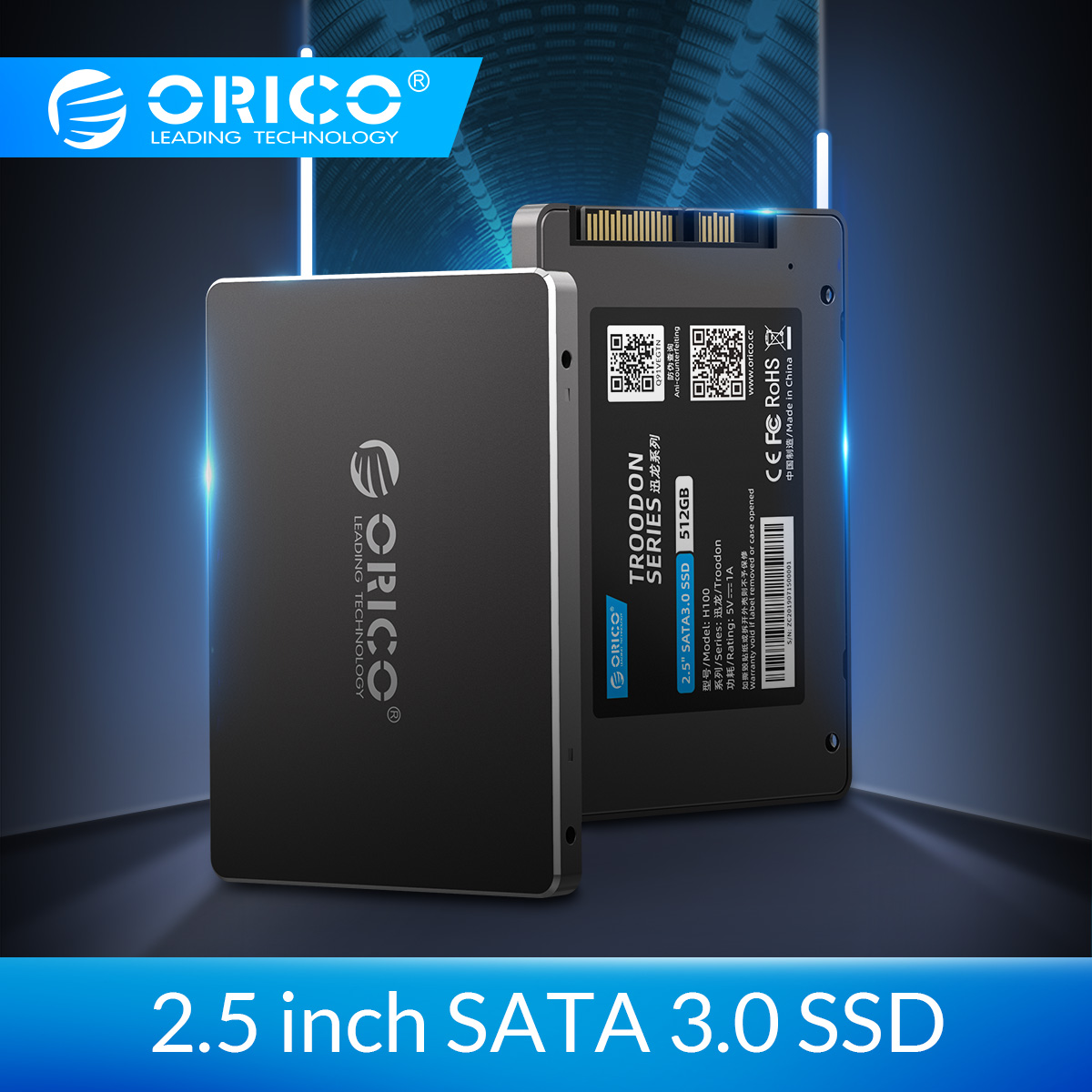 ORICO Solid State Hard Drive 128GB 256GB 512GB <font><b>1TB</b></font> <font><b>SSD</b></font> <font><b>2.5</b></font> Inch SATA <font><b>SSD</b></font> <font><b>1TB</b></font> Internal Solid State Disk For Desktop Laptop image