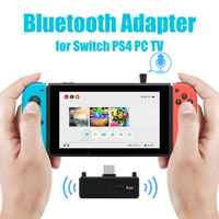Bluetooth 5.0 Audio Transmitter Adattatore EDR A2DP SBC Bassa Latenza per Nintendo Interruttore PS4 TV PC USB Tipo-C trasmettitore senza fili