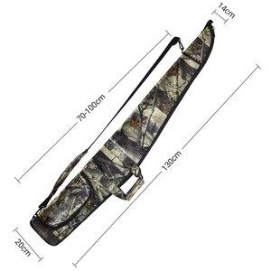 Image 4 - AIRSOFTPEAK Funda de pistola militar, bolsa de Rifle de táctica, camuflaje para exteriores, accesorios de caza ocultos, fundas de transporte para armas de tiro de 130CM