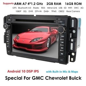 Image 5 - 2Din android araba radyo autoradio araç DVD oynatıcı oynatıcı GMC Chevrolet Chevy Yukon Tahoe Sierra Acadia Suburban multimedya carmonitor