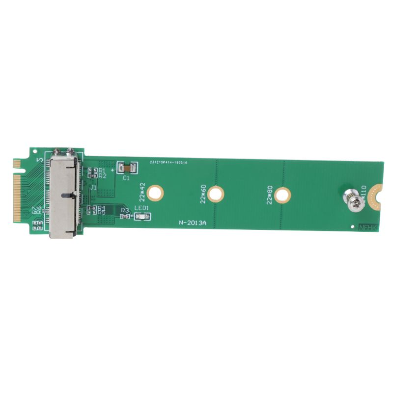Drop Ship For MacBook Air Pro <font><b>12</b></font>+<font><b>16</b></font> <font><b>Pins</b></font> SSD to M.2 Key M (NGFF) PCI-e <font><b>Adapter</b></font> Converter Card for PC Computer Accessories image