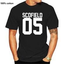 Männer der Michael Scofield 05 Prison Break T Shirts Reine Baumwolle Kleidung Neuheit Kurzarm O Neck Tees Geschenk Idee t-Shirt