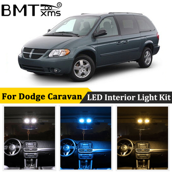 BMTxms Canbus No Error Auto LED Interior Map Dome Trunk License Plate lamp light Kit For Dodge Grand Caravan 1996-2020 1