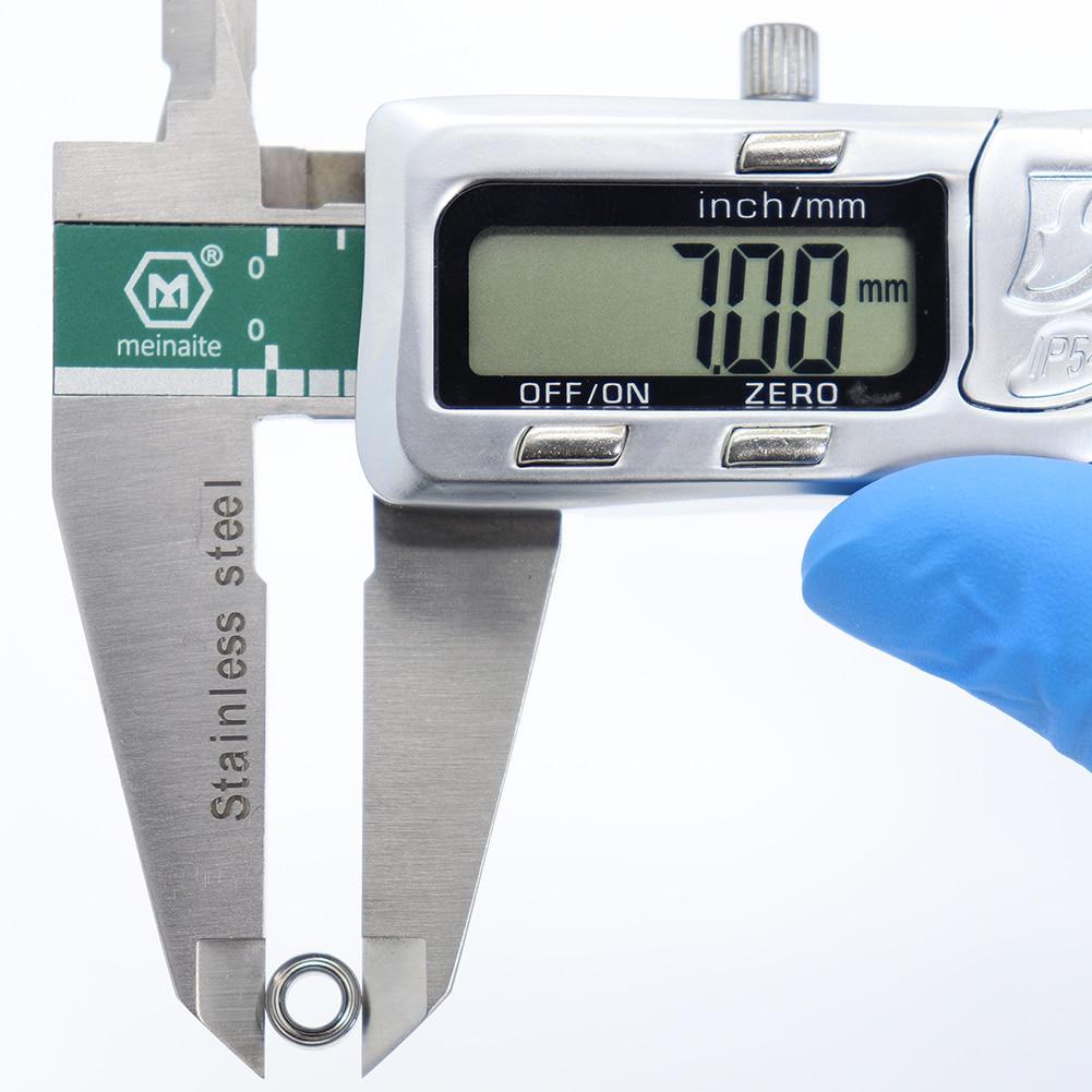 lowest price MR74zz Bearing 4 7 2 5 mm 10PCS ABEC-5 Miniature MR74 Z ZZ High Precision MR74Z Ball Bearings