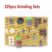 105pcs 2.35/3.17mm Shank Electric Rotary Tool Wood Metal Engraving Accessory For Glass Grinding Polishing Cutting Tools Set 105 pcs set diy polishing cutting accessory shank rotary kits for electric grinder grinding sanding engraving polishing set hot