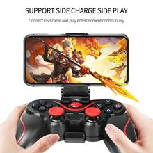 Wireless Gamepad For Android Phone/PC/PS3/TV Box Joystick Joypad Game Controller Gaming Joystick For Xiaomi SmartPhone Holder(China)