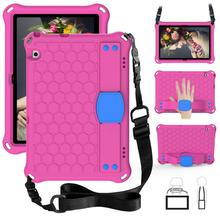 EVA Tablet Case For Huawei MediaPad T3 10 9.6'' T5 10 10.1'' M6 8.4 M5 Lite 8.0 MatePad T8 8.0 2020 Case Shockproof Stand Cover