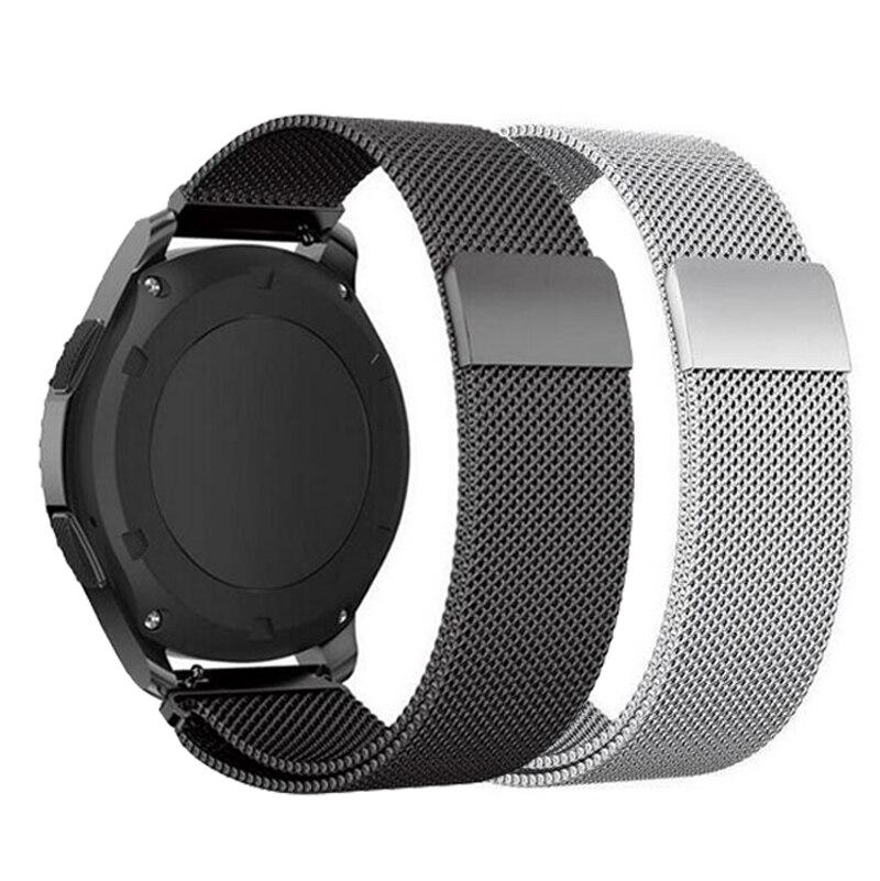 20 22 мм ремешок для Huami amazfit bip ремешок для Samsung active 2 40 44 мм Gear sport S2 S3 Classic huawei GT 2 galaxy watch 42 мм 46