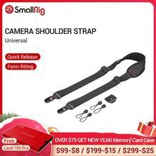 SmallRig correa de hombro para cámara DSLR Universal con placa QR para trípode Arca Swiss y trípode Manfrotto RC2 2428