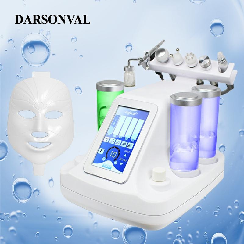 DARSONVAL Hydra Facial 6 In 1/7 In 1 Small Bubbles Skin Care Device Ultrasonic RF Deep Pore Clean Facial Massage Machine