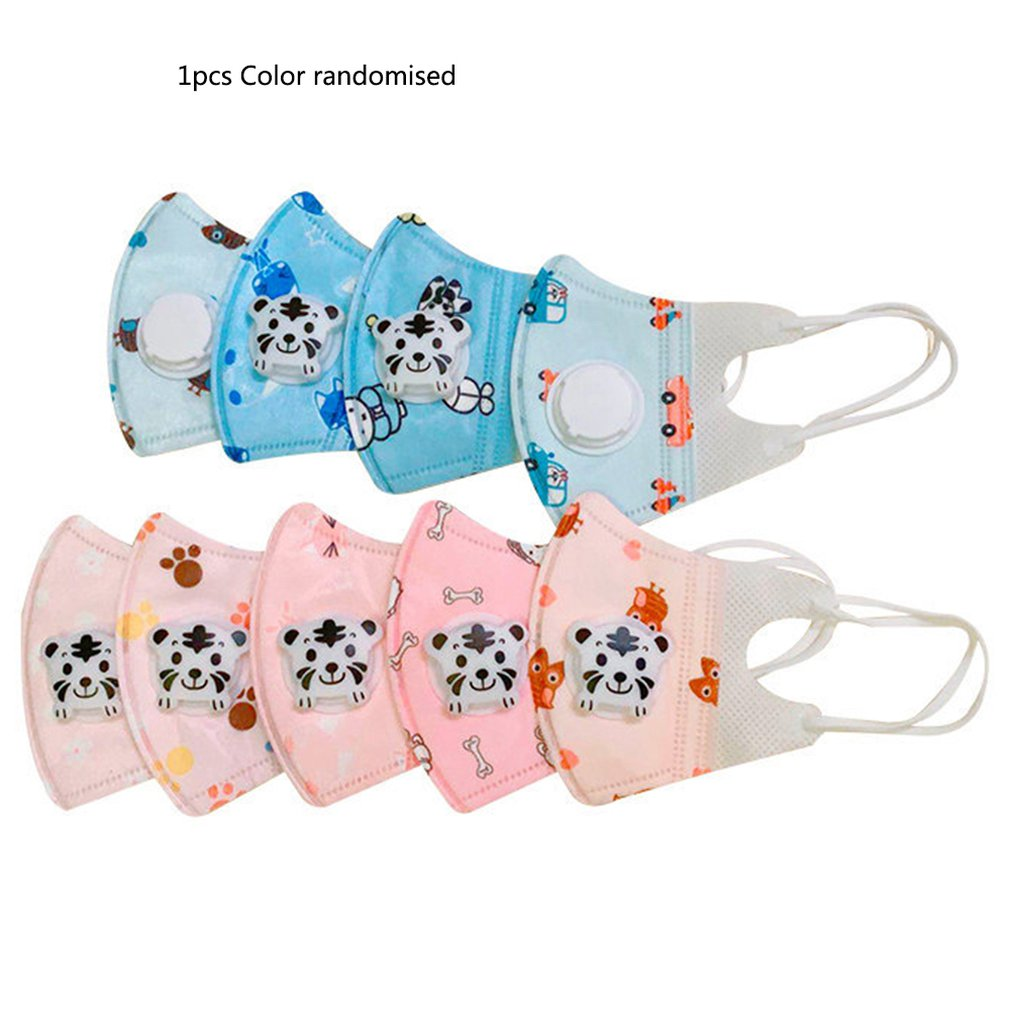 N95 Breathable Dust Mask With Breather Valve Light And Breathable High Efficiency Filtration Kid Mask
