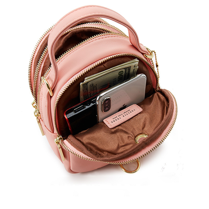 Closeout DealsMini Backpack Purse Messgner-Bags Luxury-Shoulder-Bag Fashion Women Ladies Tote Multi-Function