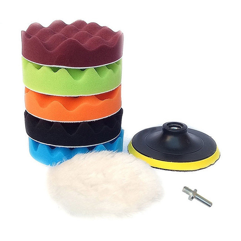 enceramento buffer esponja polimento almofada polidor conjunto