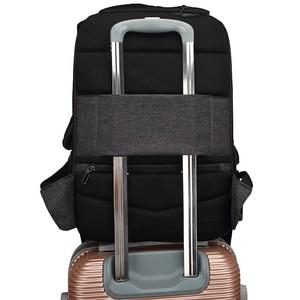 Image 4 - Splashproof Oxford 15.6inch Laptop Backpacks Anti Theft Men Backpack Travel Teenage Backpack bag male bagpack mochila School Bag