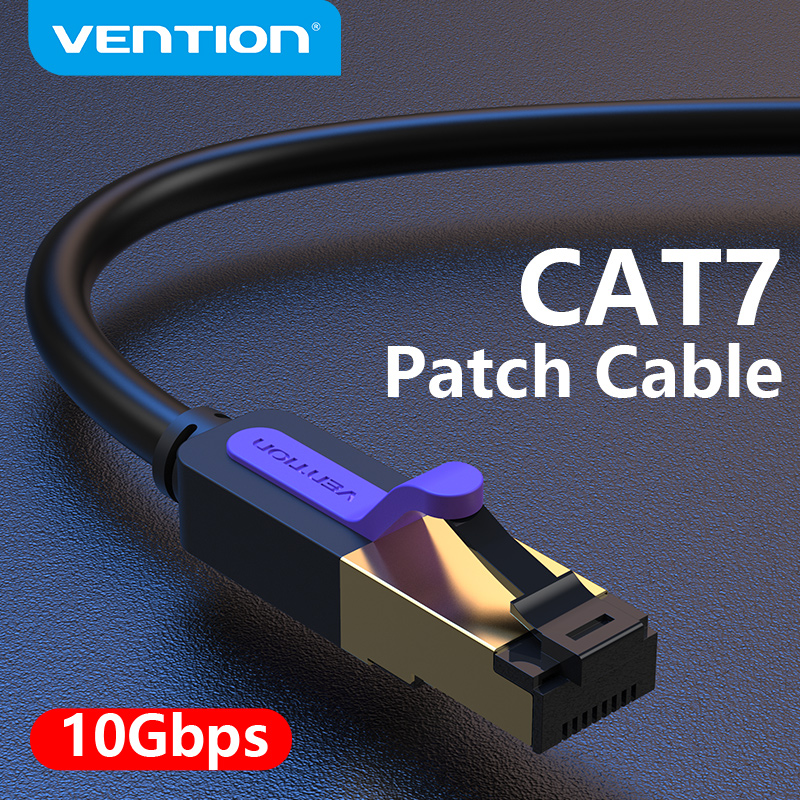 Vention Ethernet Cable RJ 45 Cat7 Lan Cable STP RJ45 Network Cable for Cat6 Compatible Patch Cord for Router Cat7 Ethernet Cable