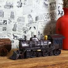 Украшение для дома ретро и ностальгическая модель локомотива