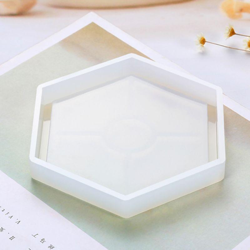 Набор форм из силиконовой смолы квадратная круглая шестиугольная эпоксидная форма с мерной чашкой деревянная палка DIY Coaster аксессуары для украшения дома Инструменты и оборудование для украшений      АлиЭкспресс