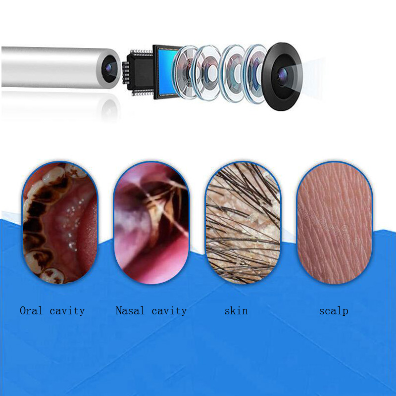 Medical Endoscope Camera 3 9MM Mini Waterproof USB Endoscope Inspection Camera for OTG Android Phone PC Ear Nose Borescope in Borescopes from Tools