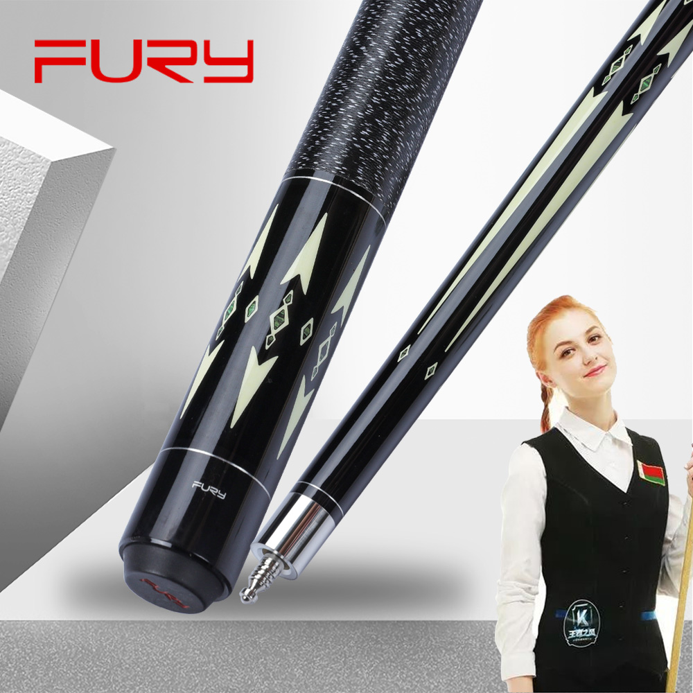 FURY GRACE Billiard Carom Cue 11.8mm Maple Shaft Professional High Quality Carom Billar Stick Kit  With Many Gifts