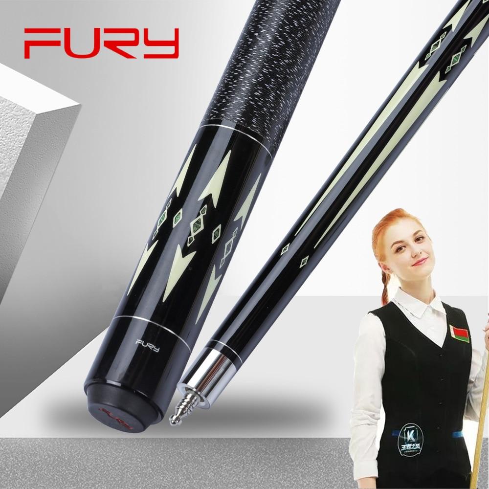 FURY GRACE Billiard Carom Cue 11.8mm Maple Shaft Professional High Quality Carom Billar Stick Kit  With Many Gifts