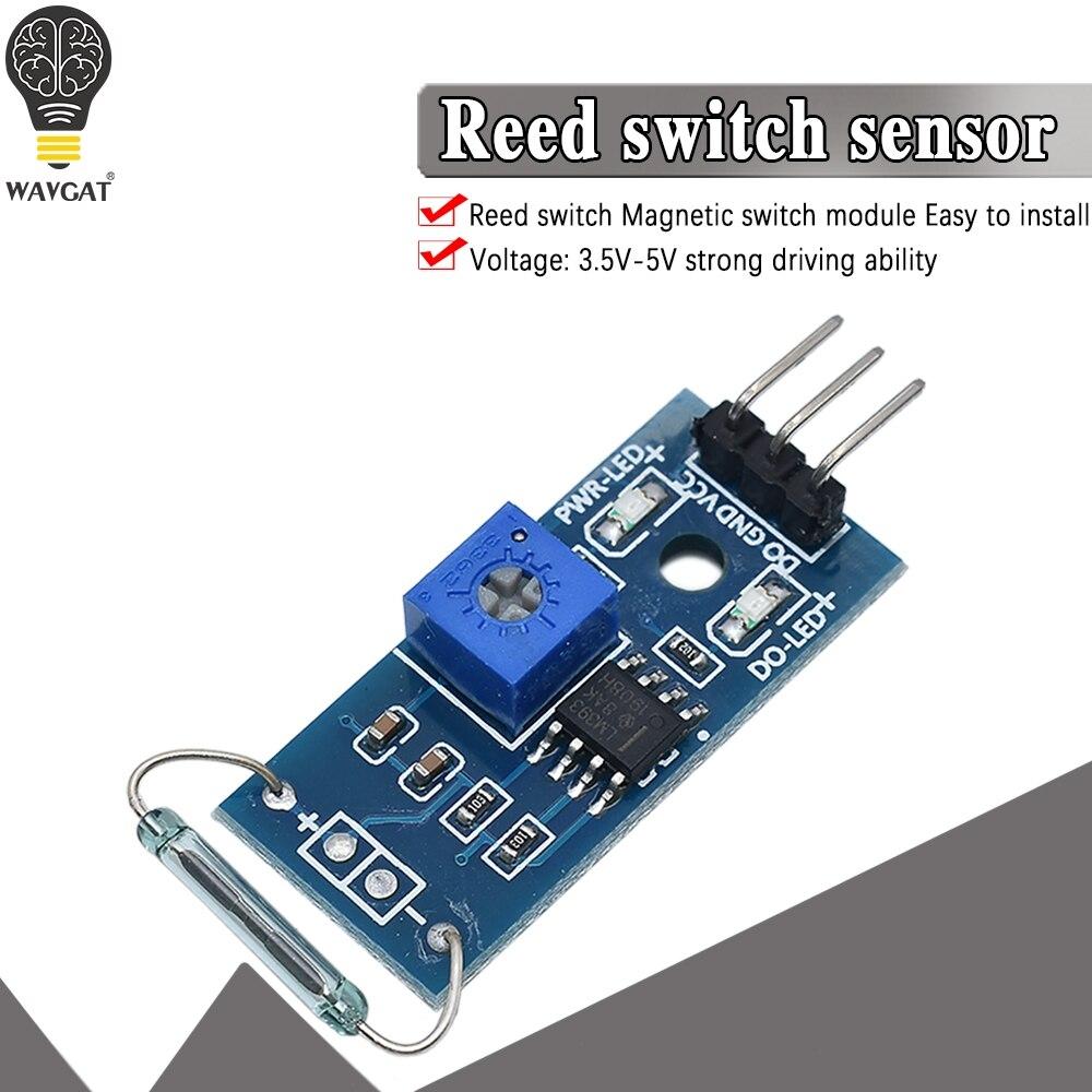 Герконовый модуль датчика магнетронный модуль герконовый переключатель MagSwitch для Arduino