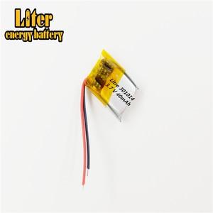Image 1 - Meilleure batterie marque 3.7V polymère lithium batterie 301014 micro dispositif Bluetooth casque jouet 40mAH 301015