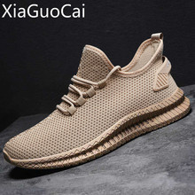 Summer/autumn Breathable Mesh Mens Casual Shoes