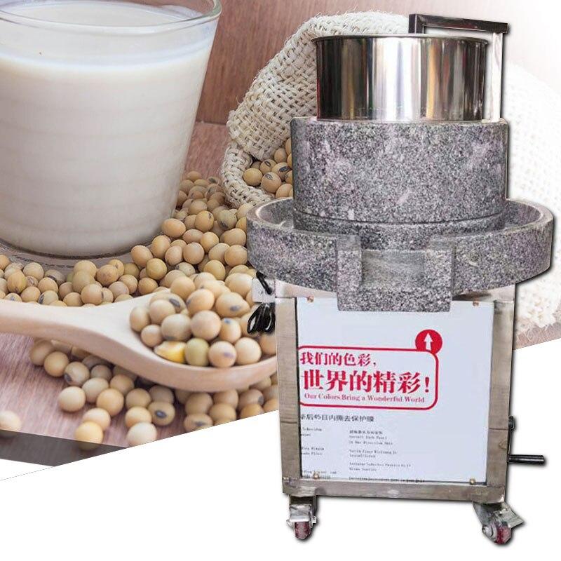 Карбид кальция мельница Коммерческая полностью автоматическая дробилка соевого молока тофу машина блинов фрукты рис молоко машина шок