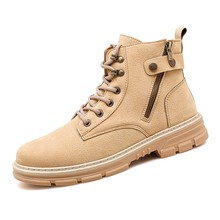 Winter Men Boots Water-Proof Ankle Autumn Outdoor for Shoes Non-Slip 39-44