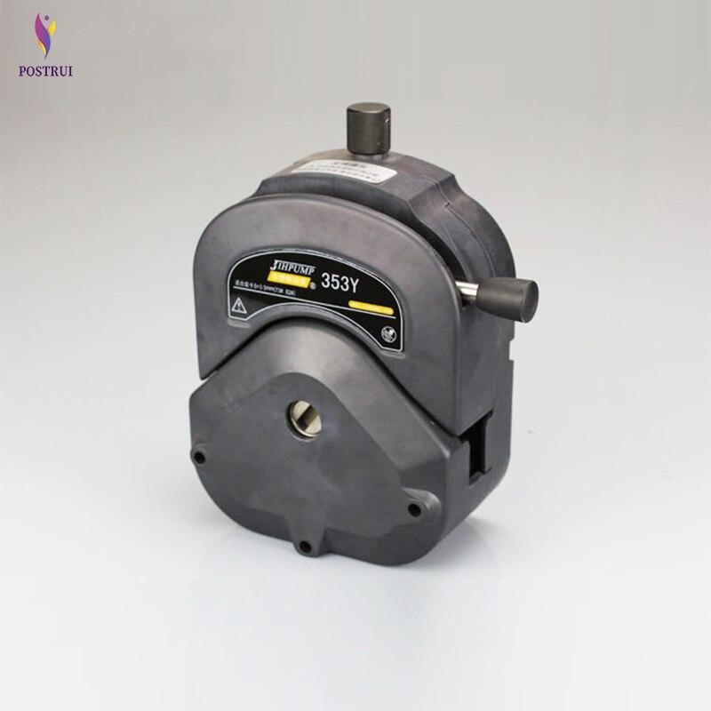 Peristaltic Pump Head 353Y Easy Install Pump Head 12L/min Large Flow Peristaltic High Strength Corrosion High Strength Pump Head