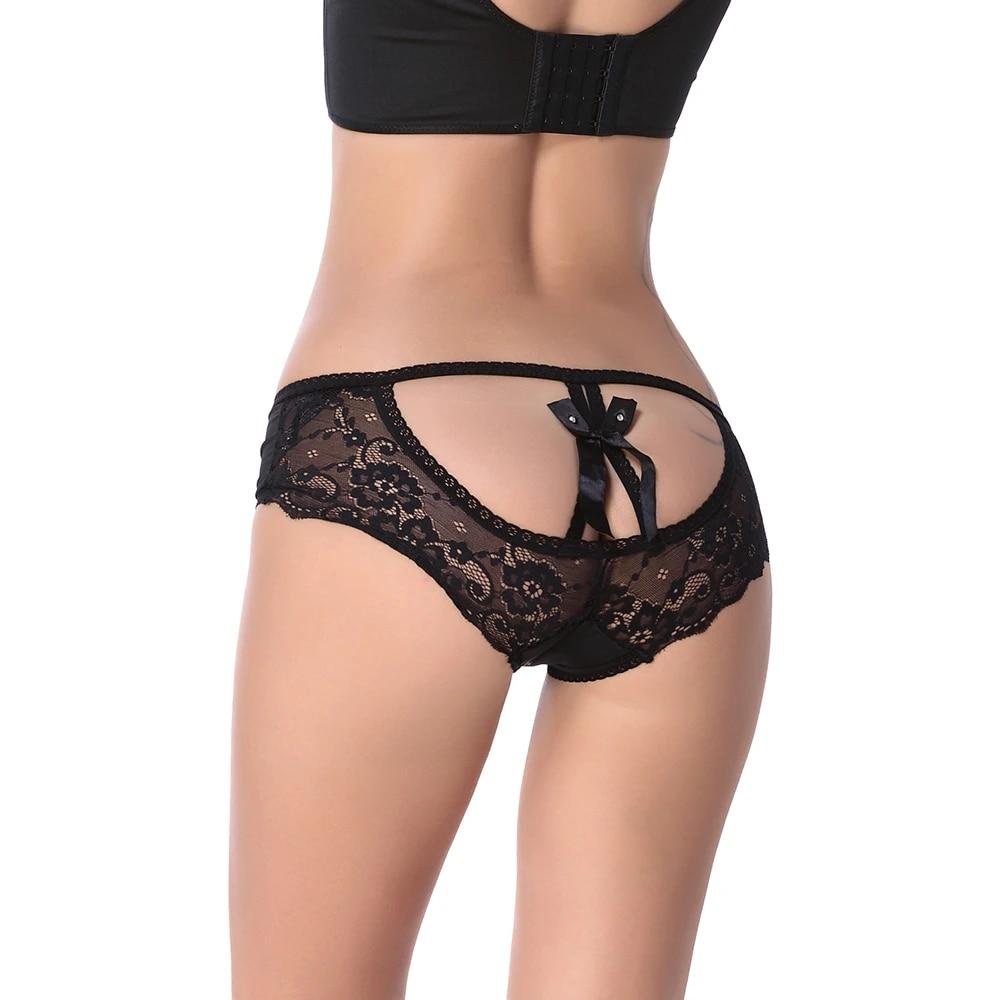 Lace Crochless Panties Scenes