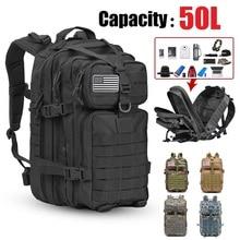 Backpack Hunting-Bag Waterproof Rucksack Camping-Equipment Army Tactical Large-Capacity