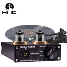 Turntable Preamplifier Record-Player Phonograph 6J2 Hifi Audio Vacuum-Tube-Mm Stereo