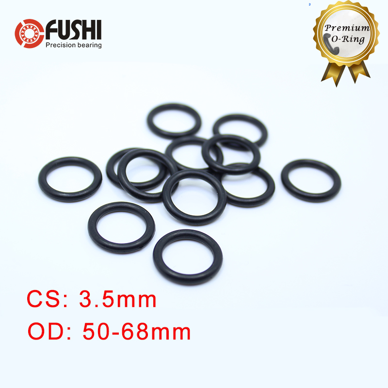 O-Rings Nitrile Rubber Internal Diameter 49 mm 53 mm OD 2 mm Wide Round Seal Gasket 20 Pieces