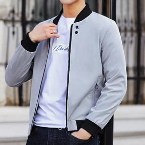 Image 5 - MANTLCONX plus récent solide automne hommes vestes mâle décontracté fermeture éclair été veste hommes printemps décontracté Outwear hommes mince veste homme automne