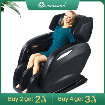 Weightless Space Capsule Multi Function Intelligent Kneading Shiatsu Airbag Full Body Massage Chair Easy to Use at Home & Office