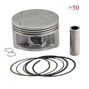 Image 1 - Motorfiets Zuiger Kit Voor Yamaha XT600 + 50 Boring Ringen Maat 95.5 Mm Xt 600 Motor Bike Motor Cilinder Onderdelen set