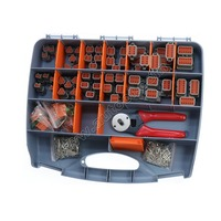 471 Pcs Deutsch DT Series Automotive Connector Kit with Solid Terminals Plier 20AWG Solid Terminals? box